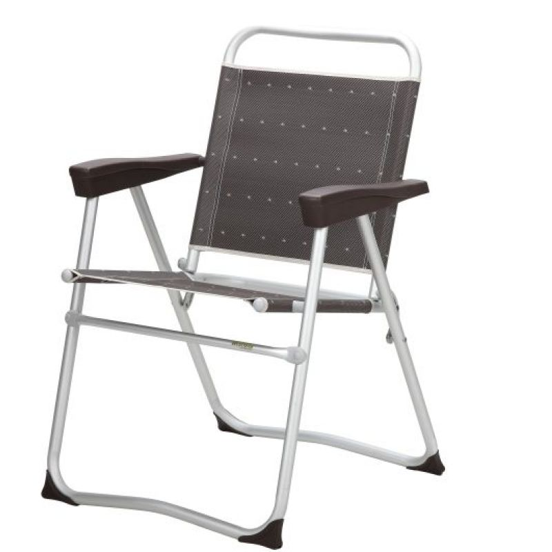 berger klappstuhl salina grau alu rundrohr bis 120 kg belastbar b 63 x h 91 x t 61 cm. Black Bedroom Furniture Sets. Home Design Ideas