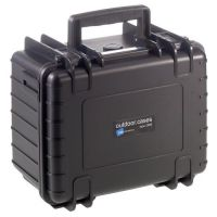 B&W Type 2000 Outdoor Case Schwarz Leer