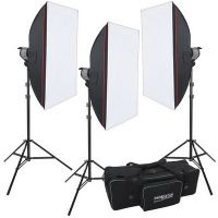 proxistar Studioset Quartzlight 3x PS-1000 SOFT