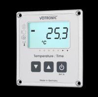 Votronic LCD-Thermometer / Uhr S mit Extern-Sensor